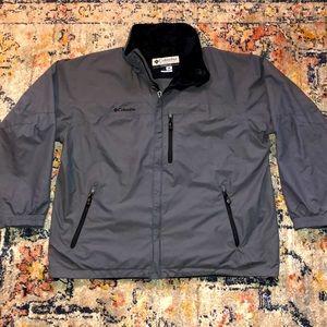 Vintage 90's Columbia Windbreaker Jacket XL